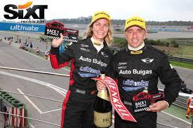 Marta Suria, de Sixt rent a car, y Luis Miguel Reyes disputarán la ... - reyes-suria-mini-sixt-mayo-2012