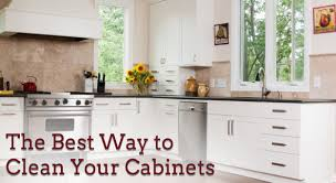 Clean Grease Off Kitchen Cabinets Interesting 10 Best Way To Clean Grease From Kitchen Cabinets