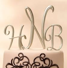 monogrammed wedding gifts