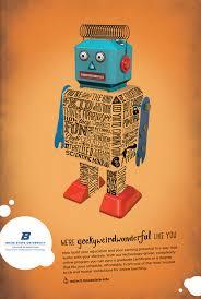 Robot poster Boise State University