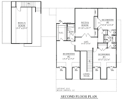 One Level Home Plans Plan W4658pr For A Narrow Lotcountry House Plans With Garage In