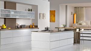 modern white kitchens narrow two tiered eat in kitchen island
