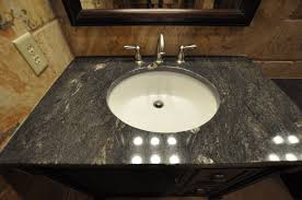 White Bathroom Vanity With Granite Top by Black Granite Bathroom Vanities With Tops Granite Illinois By