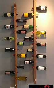Wall Mounted Shelves Wood Plans by Efficiency By Using Wall Mount Wine Rack Bonnieberk Com
