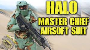 Halloween Halo Costumes Halo Master Chief Airsoft Suit Halloween Special 2015