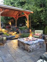 Ideas For Fire Pits In Backyard by Best 10 Patio Design Ideas On Pinterest Backyard Patio Designs
