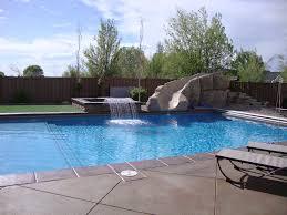 pool with rock slide u2013 mapleton ut r u0026m pools u0026 spas