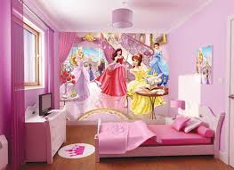 cute and stylish disney princess pics kids wall decor ideas
