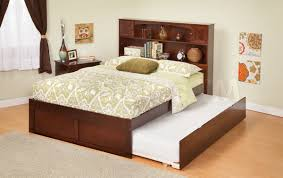 Full Size Trundle Bed Frame Twin Trundle Bed With Bookcase Headboard U2013 Lifestyleaffiliate Co