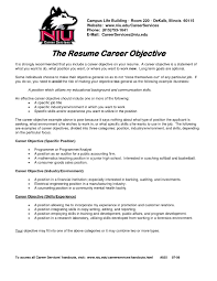 Career Goals Examples For Resume by Gallery Resume Template What Objectives To Put On A Resume