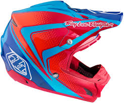 troy lee designs motocross helmet troy lee designs mx helmets troy lee designs se3 neptune blue red
