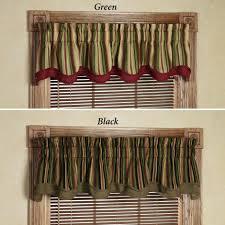 Elegant Kitchen Curtains by Green Kitchen Valances