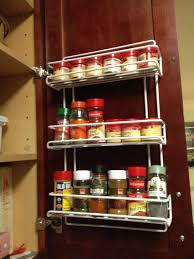 Best Spice Racks For Kitchen Cabinets Kitchen Gorgeous Vintage Solid Wooden Hanging Wall Spice Rack For