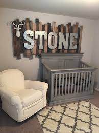 Metal Decorative Letters Home Decor Rustic Wood Pallet Sign With Galvanized Metal Letters Above The