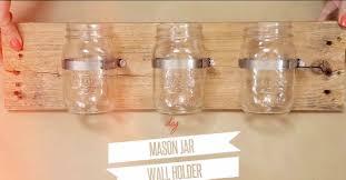 Diy Home Projects by Diy Mason Jar Wall Organizer Diy Joy