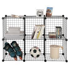 Cube Storage Shelves Stor Floor Standing 6 Cube Age Unit