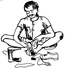 coloring pages of tools anvil carpenter coloring page handyman coloring page free