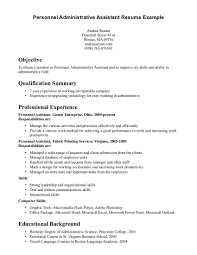 Best Resume Examples Professional by Best Resume Samples For Administrative Assistant Resume For Your