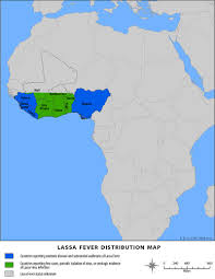 Map Of Mali Africa by Outbreak Distribution Map Lassa Fever Cdc