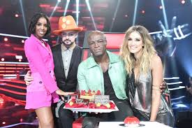 The Voice Australia   TheVoiceAU    Twitter Twitter Delta Goodrem  Boy George  Seal and The Voice Australia