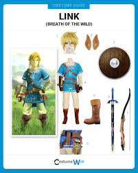 link halloween dress like link from zelda u2013 breath of the wild costume