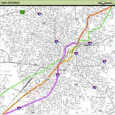 San Antonio Texas Map Meridian Highway Maps Thc Texas Gov Texas Historical Commission