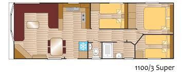Caravan Floor Plan Layouts Andes Caravan 1100 3 Super Layout Europa Caravans Hull