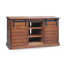 Tv Unit Furniture With Price Amazon Com Barn Door 62 Inch Tv Stand Santa Fe Kitchen U0026 Dining