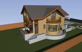 architecture and design house plans and 3d elevation rendered