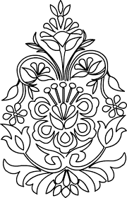 Indian Flower Design Floral Design Patterns By Sumathi Floral Designs Patterns To