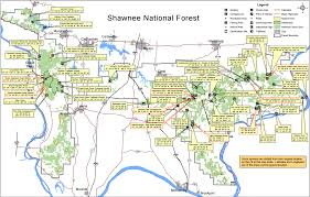 Illinois Prairie Path Map by Shawnee National Forest Map National Forest Pinterest