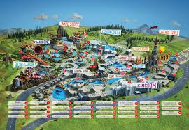 Map Of Waikiki The Land Of Legends Theme Park Live Your Legend Here