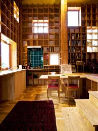 unique homes in japan woodcraft shelf house inspired by islamic