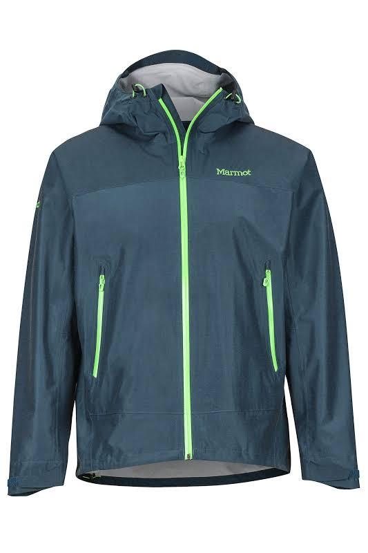 Marmot Eclipse Shell Jacket Denim Small 31120-200-S