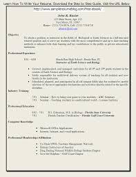 Resume Format For History Teachers Tutor Resume Sample History     No Experience Resume Sample Cover Letter