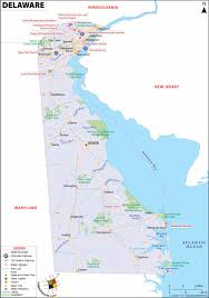 Blank State Map Of Usa by Delaware Map Map Of Delaware De