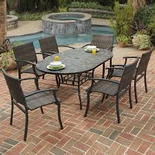 Patio Umbrella Side Table by 100 Patio Table Tile Top 2 3 Person Patio Dining Furniture