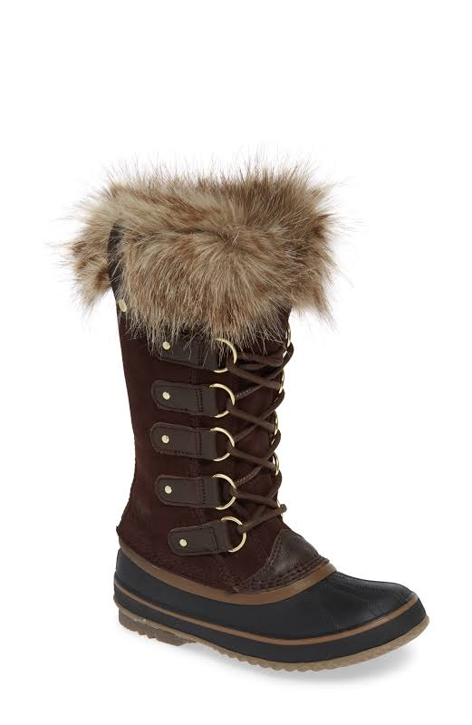 Sorel Joan of Arctic Cattail Brown Waterproof Snow Boots 1708791-902