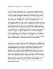 Dbq Essay On Andrew Jackson   Essay Andrew Jackson Study Resources
