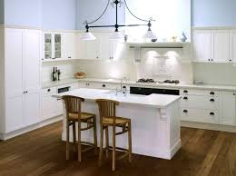 kitchens with white cabinets and countertops the most suitable