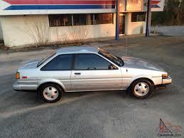 toyota corolla ae86 gt s coupe zenki 4ag t50 trd clean interior