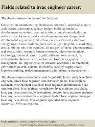 Examples Of Hvac Resumes by Top 8 Hvac Engineer Resume Samples