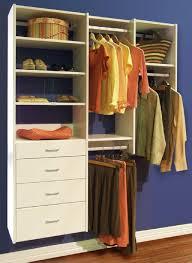 closets to go simple reach in closet organizer custom closet