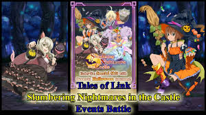 link halloween tales of link slumbering nightmare events battle youtube
