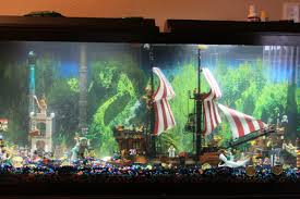 Pirate Decor For Home Pirate Lego Fish Tank In My Home Home Decor Pinterest