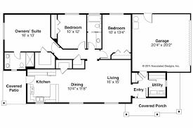 Simple 4 Bedroom Floor Plans Breathtaking 9 Simple Rectangular 4 Bedroom House Plans Innovative