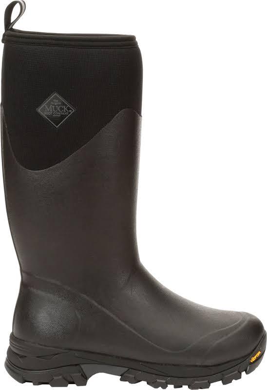 Muck Boot Company Arctic Ice Tall Black Mid-Calf Rubber Snow 10M