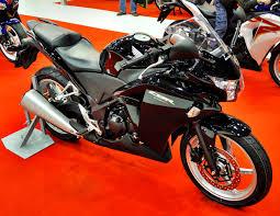 File 2011 Honda Cbr250r Black Right Motosalon Jpg Wikimedia Commons