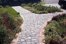 walkway ideas for backyard stone walkway pavers install it direct idolza