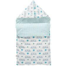 couverture coton bio couverture bébé éléphant bleu 80 x 100 cm fresk